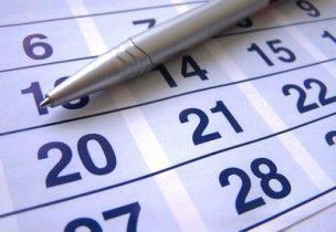 agenda - calendrier