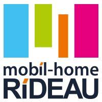 mobil-home Rideau carré