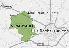 Carte de Venansault